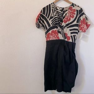 Space Style Concept Patterned Dress NWT EU 42